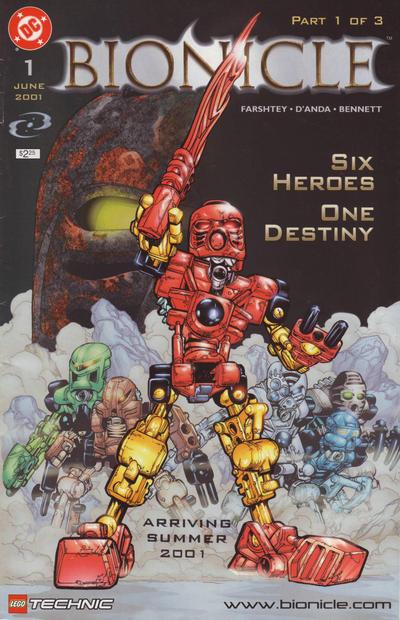 Bionicle Vol 1