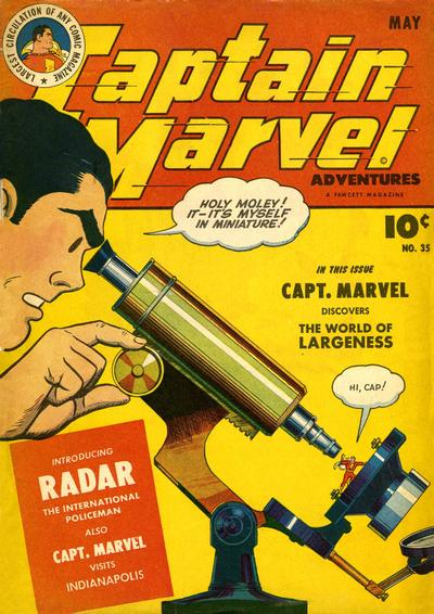 Captain Marvel Adventures Vol 1 35