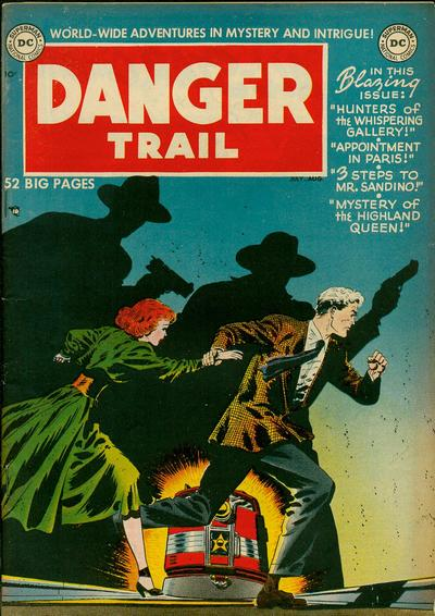 Danger Trail Vol 1 1