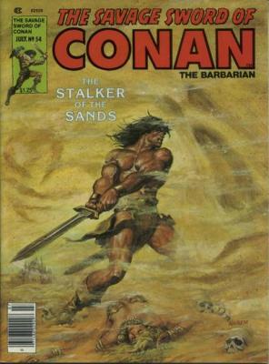 Savage Sword of Conan Vol 1 54