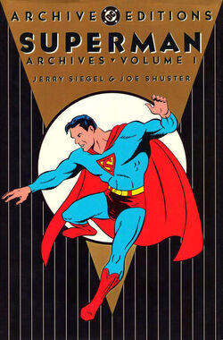 Cover for the Superman Archives Vol 1 1 Trade Paperback
