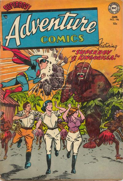 Adventure Comics Vol 1 196