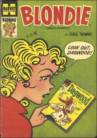 Blondie Comics Vol 1 74
