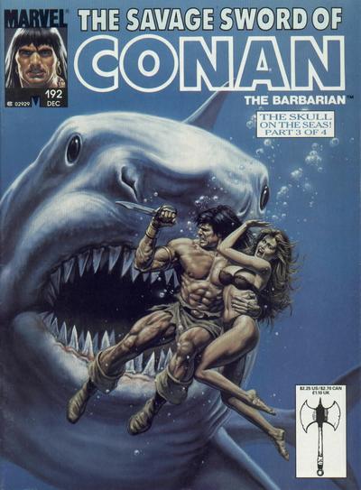 Savage Sword of Conan Vol 1 192