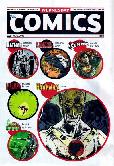 Wednesday Comics Vol 1 2