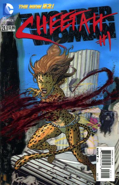 Wonder Woman Vol 4 23.1: The Cheetah