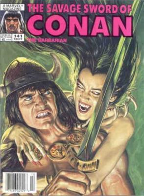Savage Sword of Conan Vol 1 141