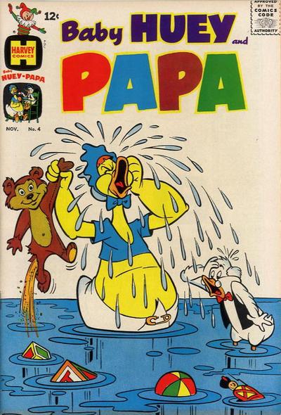 Baby Huey and Papa Vol 1 4