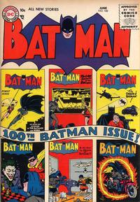 Batman Vol 1 100