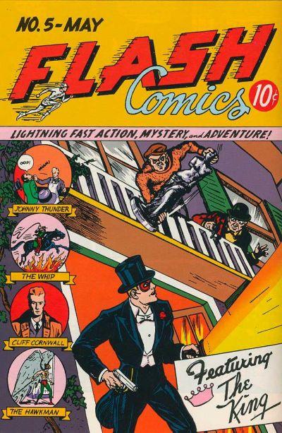 Flash Comics Vol 1 5
