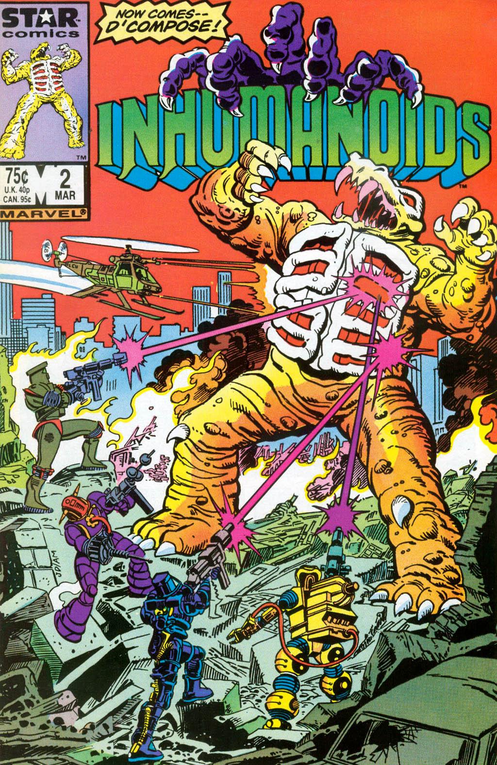 Inhumanoids Vol 1 2