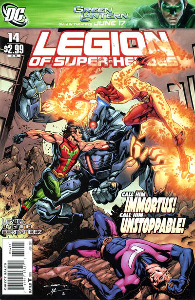 Legion of Super-Heroes Vol 6 14