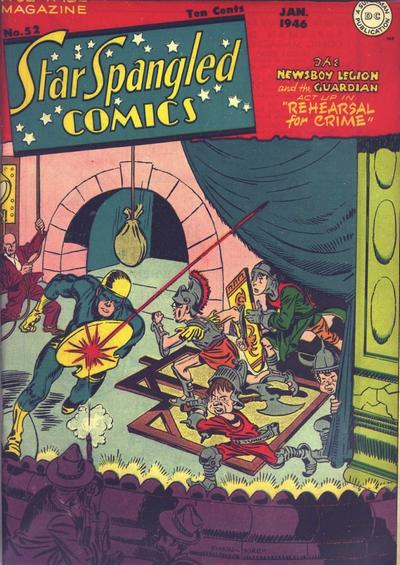 Star-Spangled Comics Vol 1 52