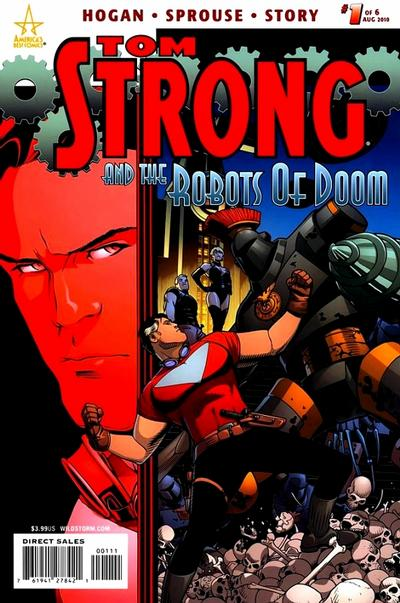 Tom Strong and the Robots of Doom/Covers