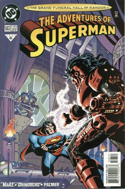 Adventures of Superman Vol 1 563