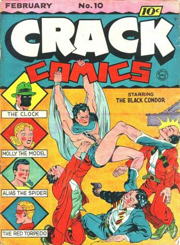 Crack Comics Vol 1 10