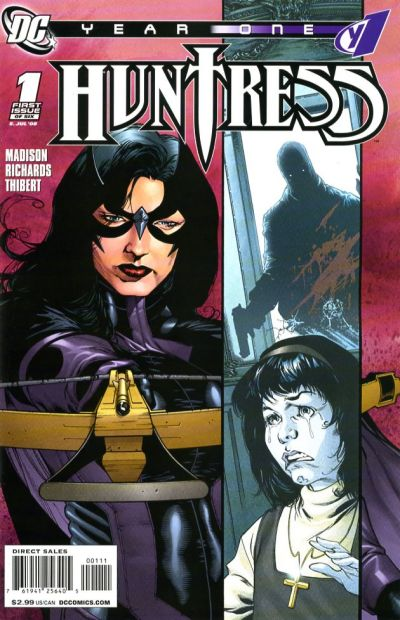 Huntress: Year One/Covers