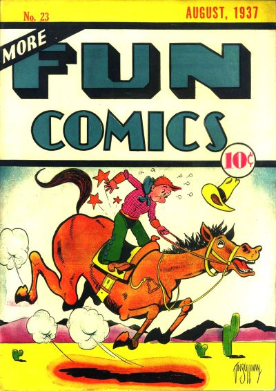 More Fun Comics Vol 1 23