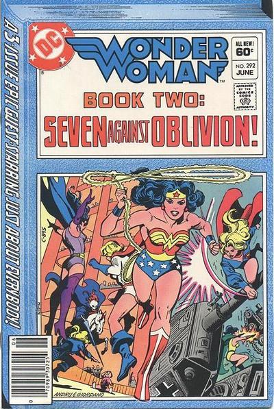 Wonder Woman Vol 1 292