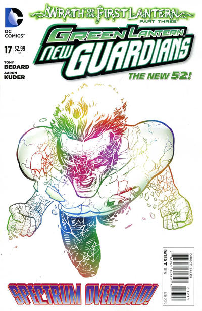 Green Lantern: New Guardians Vol 1 17