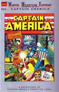 Marvel Milestone Edition Captain America Comics Vol 1 1