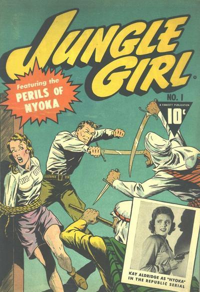 Nyoka the Jungle Girl Vol 1 1