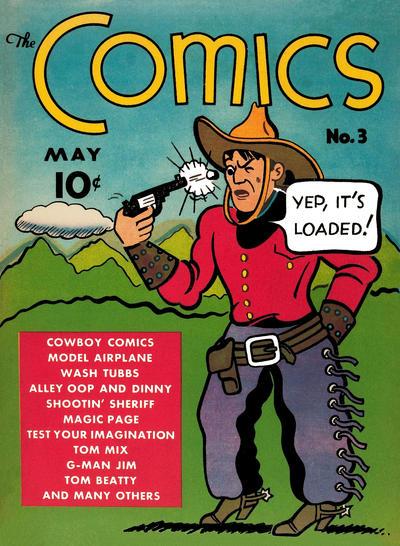 The Comics Vol 1 3