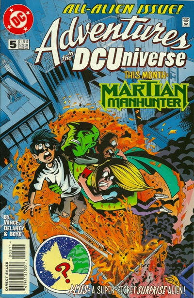 Adventures in the DC Universe Vol 1 5