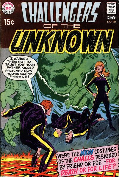 Challengers of the Unknown Vol 1 70
