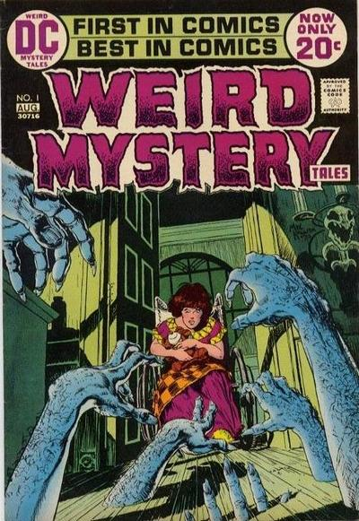Weird Mystery Tales Vol 1