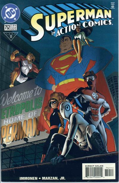 Action Comics Vol 1 752
