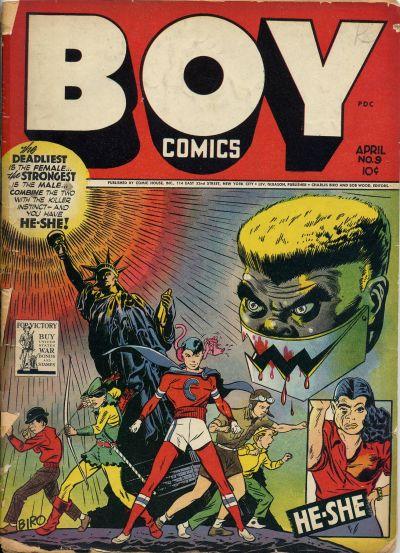 Boy Comics Vol 1 9