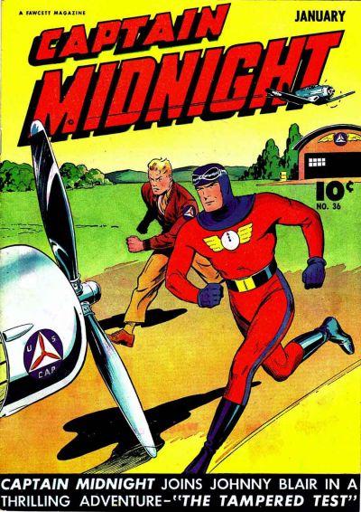 Captain Midnight Vol 1 36
