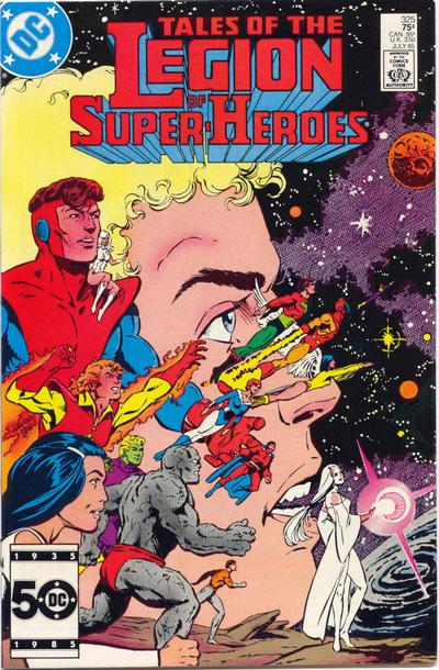 Legion of Super-Heroes Vol 2 325