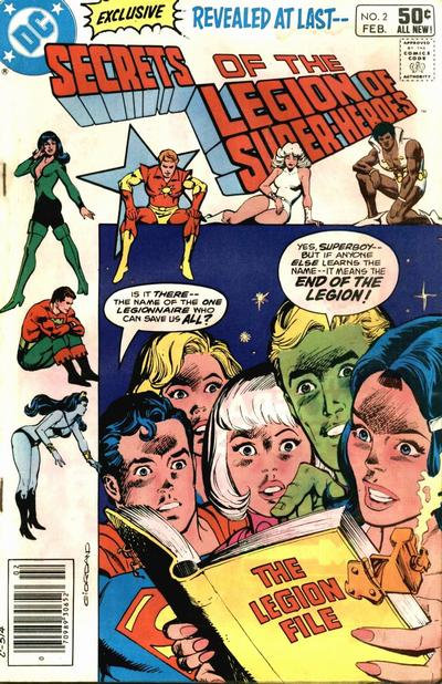 Secrets of the Legion of Super-Heroes Vol 1 2