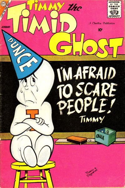 Timmy the Timid Ghost Vol 1 13