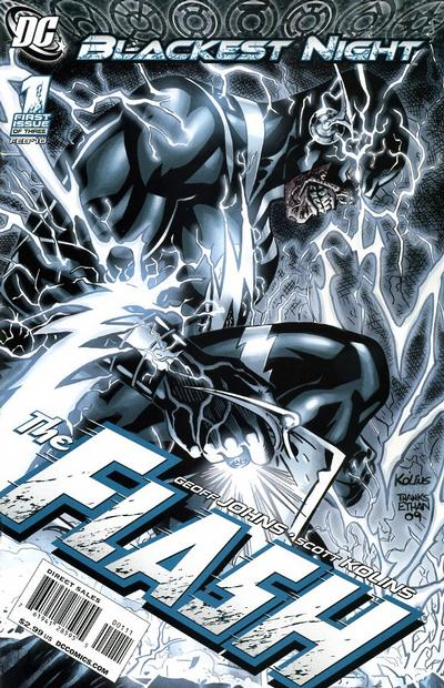 Blackest Night: Flash/Covers