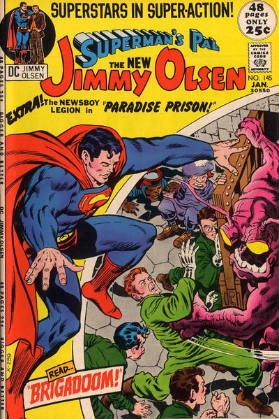 Superman's Pal, Jimmy Olsen Vol 1 145