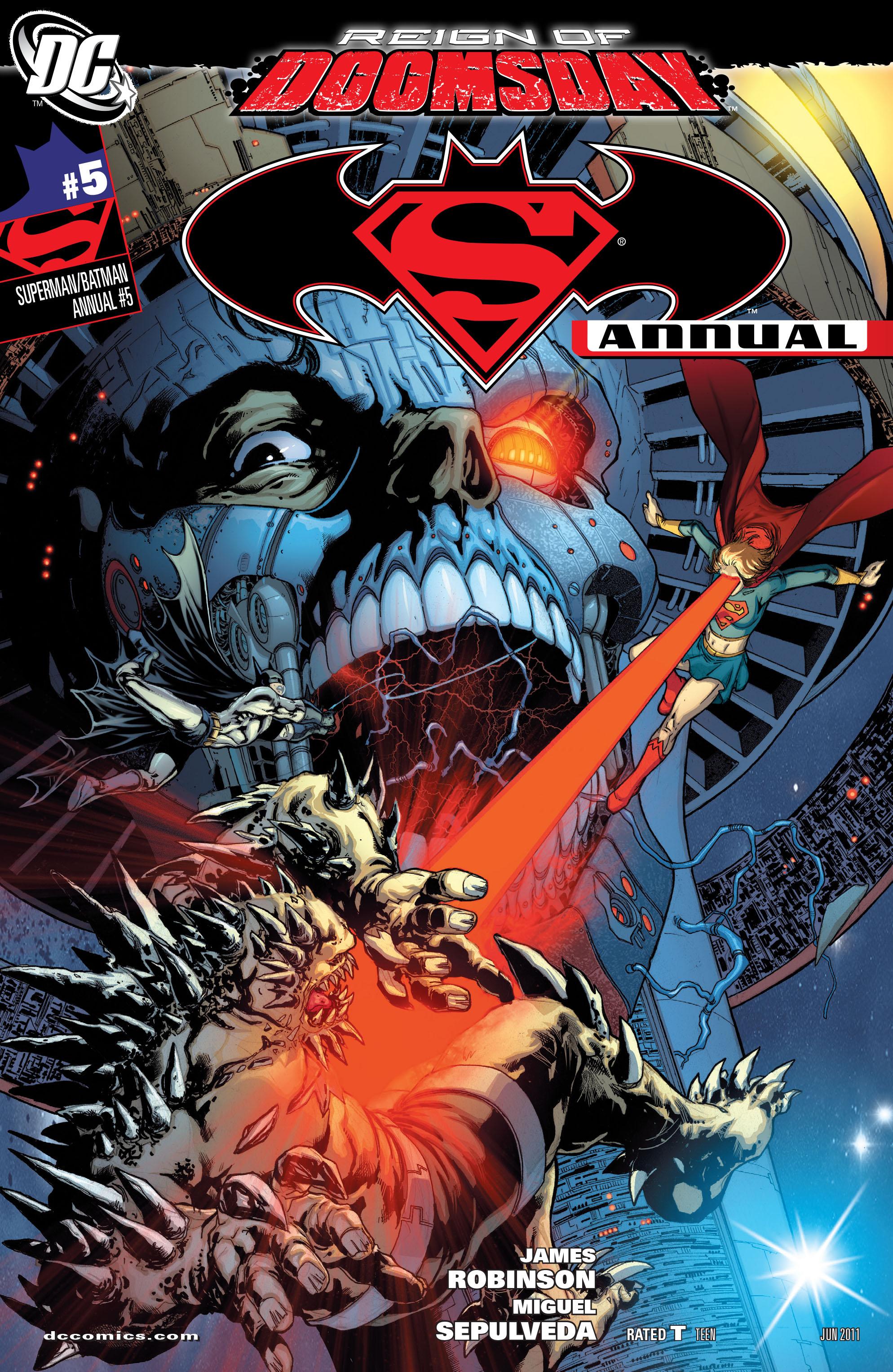 Superman/Batman Annual Vol 1 5