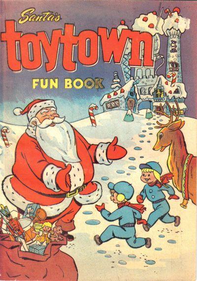 Santa's Toytown Fun Book Vol 1
