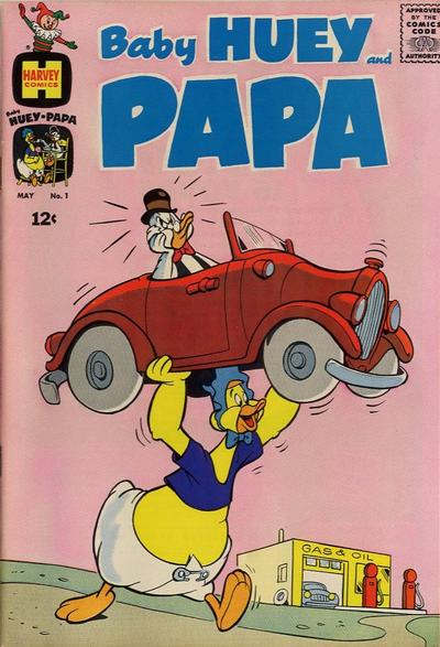 Baby Huey and Papa/Covers