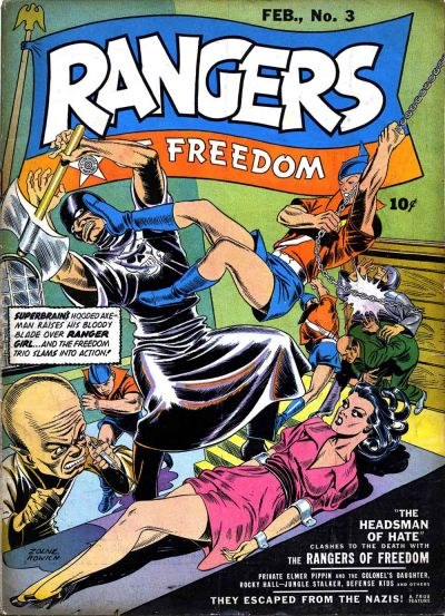Rangers of Freedom Vol 1 3