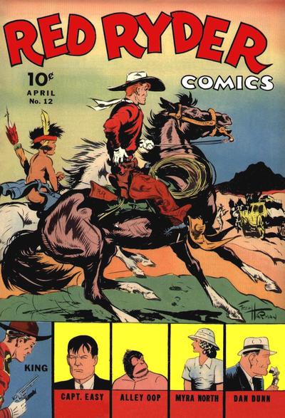 Red Ryder Comics Vol 1 12
