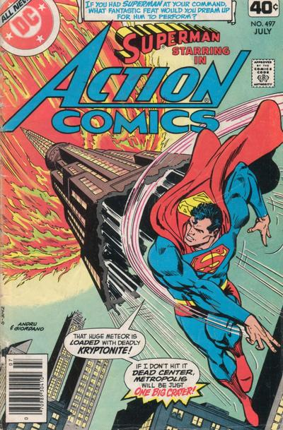 Action Comics Vol 1 497
