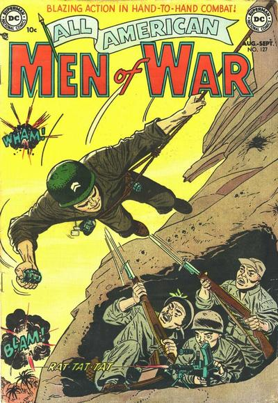 All-American Men of War/Covers