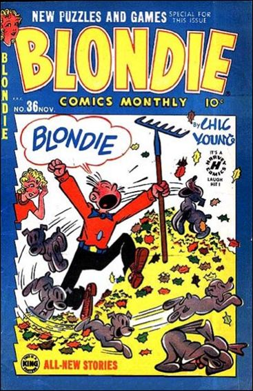 Blondie Comics Vol 1 36