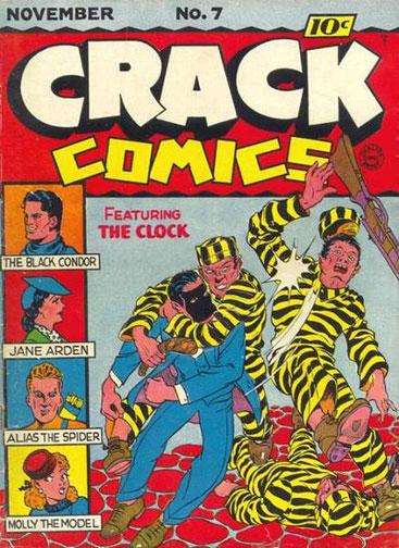 Crack Comics Vol 1 7