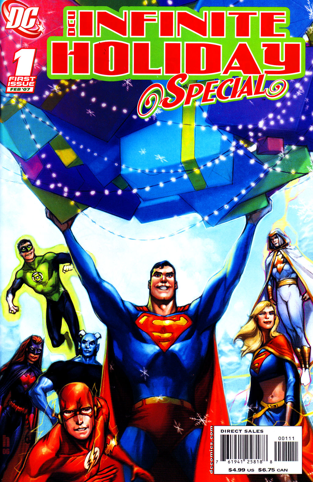 DCU Infinite Holiday Special Vol 1 1