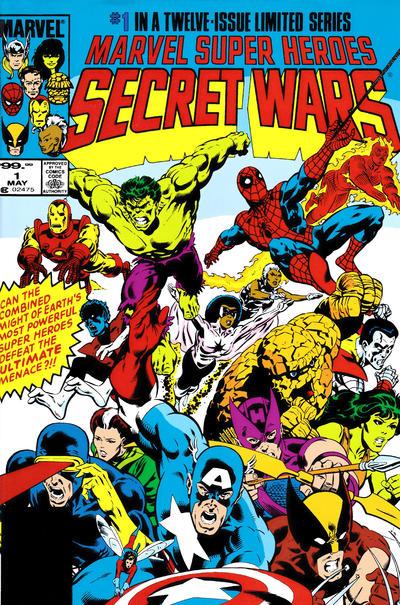 Secret Wars Omnibus Vol 1 1