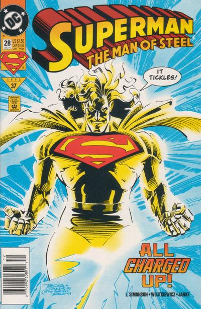 Superman: Man of Steel Vol 1 28